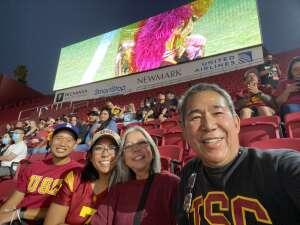 Bennygd  attended USC Trojans vs. Stanford Cardinal - NCAA Football on Sep 11th 2021 via VetTix