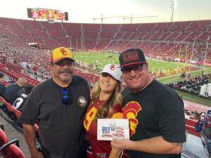 Joshua attended USC Trojans vs. Stanford Cardinal - NCAA Football on Sep 11th 2021 via VetTix