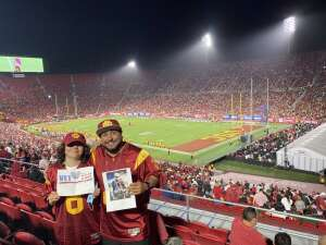 Alex attended USC Trojans vs. Stanford Cardinal - NCAA Football on Sep 11th 2021 via VetTix