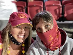 Lori Daniels attended USC Trojans vs. Stanford Cardinal - NCAA Football on Sep 11th 2021 via VetTix