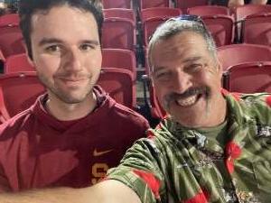 Mark attended USC Trojans vs. Stanford Cardinal - NCAA Football on Sep 11th 2021 via VetTix