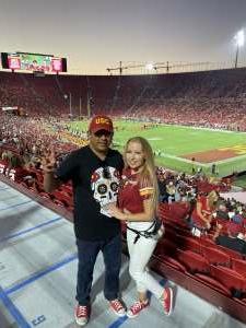 Caz attended USC Trojans vs. Stanford Cardinal - NCAA Football on Sep 11th 2021 via VetTix