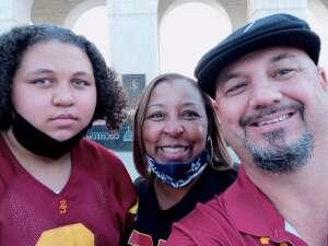 Chris attended USC Trojans vs. Stanford Cardinal - NCAA Football on Sep 11th 2021 via VetTix