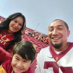 J.E. attended USC Trojans vs. Stanford Cardinal - NCAA Football on Sep 11th 2021 via VetTix