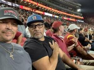 Joe Demarest attended USC Trojans vs. Stanford Cardinal - NCAA Football on Sep 11th 2021 via VetTix
