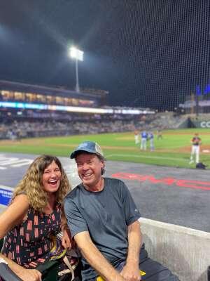 Mike and Jeanie attended Las Vegas Aviators vs. Oklahoma City Dodgers - MiLB on Sep 23rd 2021 via VetTix