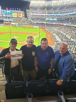 Click To Read More Feedback from New York Yankees vs. Texas Rangers - MLB