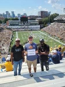 Al R attended Georgia Tech. Yellow Jackets vs. Kennesaw State Owls - NCAA Football on Sep 11th 2021 via VetTix