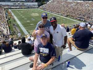 RobC attended Georgia Tech. Yellow Jackets vs. Kennesaw State Owls - NCAA Football on Sep 11th 2021 via VetTix