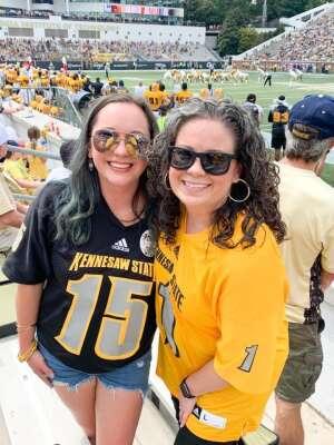 Matt m attended Georgia Tech. Yellow Jackets vs. Kennesaw State Owls - NCAA Football on Sep 11th 2021 via VetTix