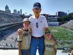 John attended Georgia Tech. Yellow Jackets vs. Kennesaw State Owls - NCAA Football on Sep 11th 2021 via VetTix