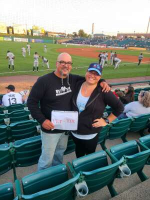 Dave Hoch attended Jersey Shore Blueclaws Vs. Greensboro Grasshoppers - MiLB on Sep 11th 2021 via VetTix