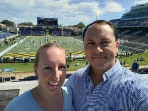 James attended Navy Midshipman vs. Marshall - NCAA Football on Sep 4th 2021 via VetTix