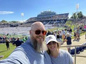 McBeard attended Navy Midshipman vs. Marshall - NCAA Football on Sep 4th 2021 via VetTix