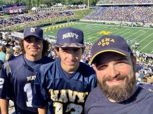 Dan  attended Navy Midshipman vs. Marshall - NCAA Football on Sep 4th 2021 via VetTix