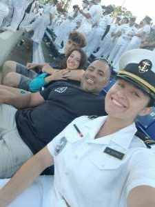 Jonas Cortes  attended Navy Midshipman vs. Marshall - NCAA Football on Sep 4th 2021 via VetTix