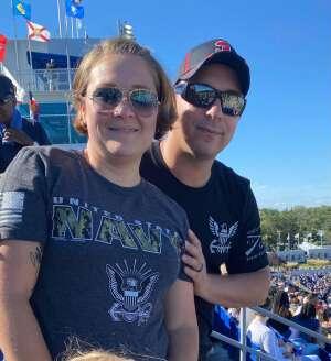 Tom N.  attended Navy Midshipman vs. Marshall - NCAA Football on Sep 4th 2021 via VetTix