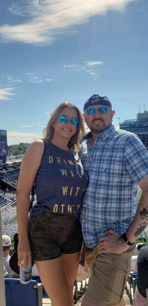 Pete & Lori Beck (USAF Retired) attended Navy Midshipman vs. Marshall - NCAA Football on Sep 4th 2021 via VetTix