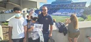Sweeney  attended Navy Midshipman vs. Marshall - NCAA Football on Sep 4th 2021 via VetTix