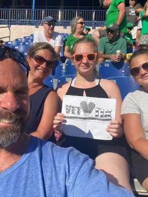Kevin L.  attended Navy Midshipman vs. Marshall - NCAA Football on Sep 4th 2021 via VetTix