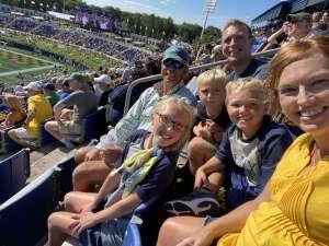 James Wilkins IV attended Navy Midshipman vs. Marshall - NCAA Football on Sep 4th 2021 via VetTix
