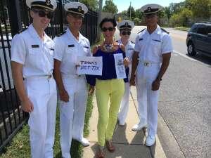Robert D. attended Navy Midshipman vs. Marshall - NCAA Football on Sep 4th 2021 via VetTix