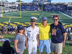 JMoo attended Navy Midshipman vs. Marshall - NCAA Football on Sep 4th 2021 via VetTix