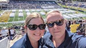 Kevin Stephens attended Navy Midshipman vs. Marshall - NCAA Football on Sep 4th 2021 via VetTix