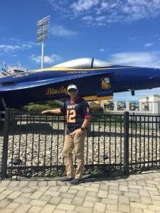 RJN attended Navy Midshipman vs. Marshall - NCAA Football on Sep 4th 2021 via VetTix
