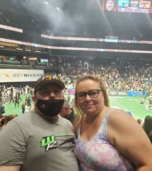 Jeff attended IFL Playoffs Round 2 - Arizona Rattlers V. Duke City Gladiators on Sep 5th 2021 via VetTix