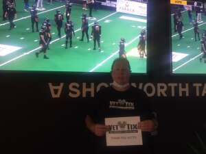 Rick D attended IFL Playoffs Round 2 - Arizona Rattlers V. Duke City Gladiators on Sep 5th 2021 via VetTix
