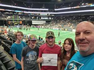 Don attended IFL Playoffs Round 2 - Arizona Rattlers V. Duke City Gladiators on Sep 5th 2021 via VetTix