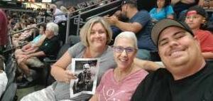 William attended IFL Playoffs Round 2 - Arizona Rattlers V. Duke City Gladiators on Sep 5th 2021 via VetTix