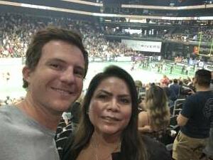 Janice attended IFL Playoffs Round 2 - Arizona Rattlers V. Duke City Gladiators on Sep 5th 2021 via VetTix
