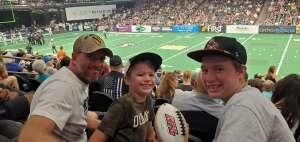 Sean attended IFL Playoffs Round 2 - Arizona Rattlers V. Duke City Gladiators on Sep 5th 2021 via VetTix