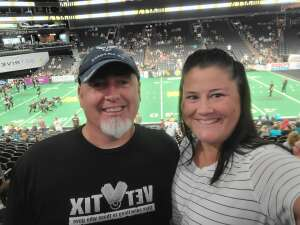 JP attended IFL Playoffs Round 2 - Arizona Rattlers V. Duke City Gladiators on Sep 5th 2021 via VetTix
