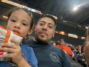 Andrew attended IFL Playoffs Round 2 - Arizona Rattlers V. Duke City Gladiators on Sep 5th 2021 via VetTix