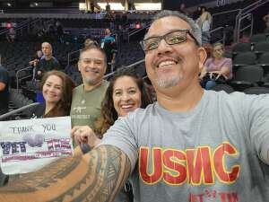 Chris attended IFL Playoffs Round 2 - Arizona Rattlers V. Duke City Gladiators on Sep 5th 2021 via VetTix