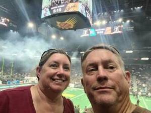 Doug attended IFL Playoffs Round 2 - Arizona Rattlers V. Duke City Gladiators on Sep 5th 2021 via VetTix