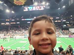 Nick McLain  attended IFL Playoffs Round 2 - Arizona Rattlers V. Duke City Gladiators on Sep 5th 2021 via VetTix