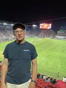 Bard attended DC United vs. Chicago Fire FC - MLS on Sep 15th 2021 via VetTix