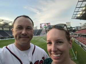 James and Kate attended DC United vs. Chicago Fire FC - MLS on Sep 15th 2021 via VetTix