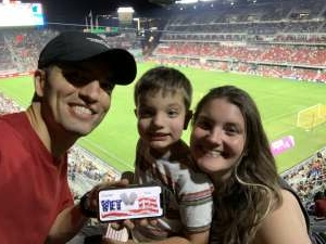 Kevin Thomas attended DC United vs. Chicago Fire FC - MLS on Sep 15th 2021 via VetTix