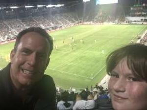 Ben Cipperley attended DC United vs. Chicago Fire FC - MLS on Sep 15th 2021 via VetTix