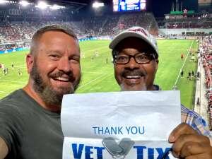 CJ McCrea attended DC United vs. Chicago Fire FC - MLS on Sep 15th 2021 via VetTix