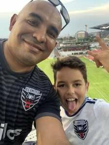 Javier C attended DC United vs. Chicago Fire FC - MLS on Sep 15th 2021 via VetTix