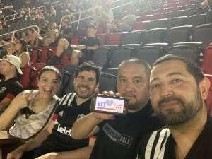 Carlos  attended DC United vs. Chicago Fire FC - MLS on Sep 15th 2021 via VetTix