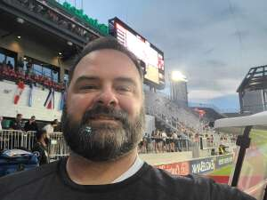 Kevin attended DC United vs. Chicago Fire FC - MLS on Sep 15th 2021 via VetTix