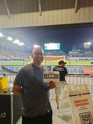 Vic attended DC United vs. Chicago Fire FC - MLS on Sep 15th 2021 via VetTix