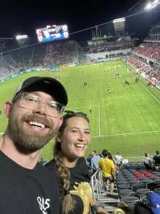 Matt attended DC United vs. Chicago Fire FC - MLS on Sep 15th 2021 via VetTix